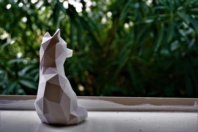 Low Poly Fox 3D Print 15587