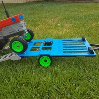 Small OpenRC tractor trailer 3D Printing 15618