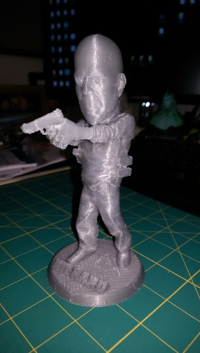 Bruce Willis DIE HARD 3D Print 15621