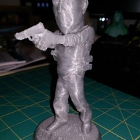 Small Bruce Willis DIE HARD 3D Printing 15621