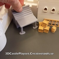 Small Modular Castle Playset (3D-printable) 3D Printing 15649