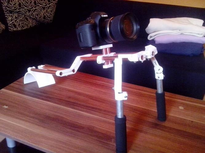 Very variable camera rig (double shouldermount, followfocus, bre 3D Print 15668