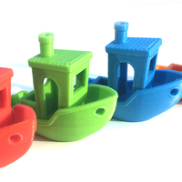 Small #3DBenchy - The jolly 3D printing torture-test 3D Printing 15698