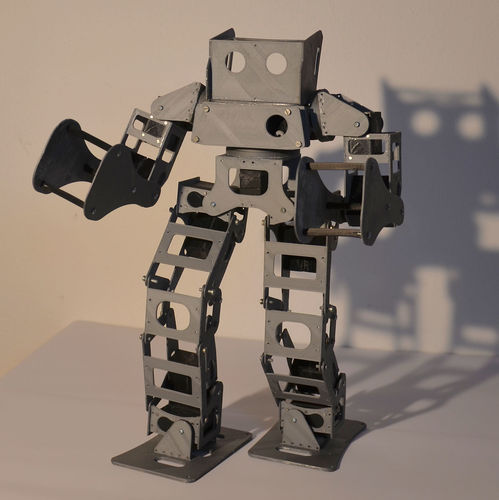 Boxing Robot - Anthony Zero (Light Version) 3D Print 15712