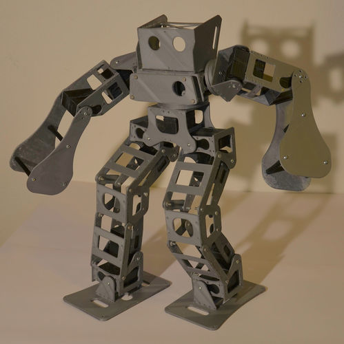 Boxing Robot - Anthony Zero (Light Version) 3D Print 15713