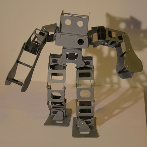 Boxing Robot - Anthony Zero (Light Version) 3D Print 15714