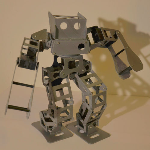 Boxing Robot - Anthony Zero (Light Version) 3D Print 15715