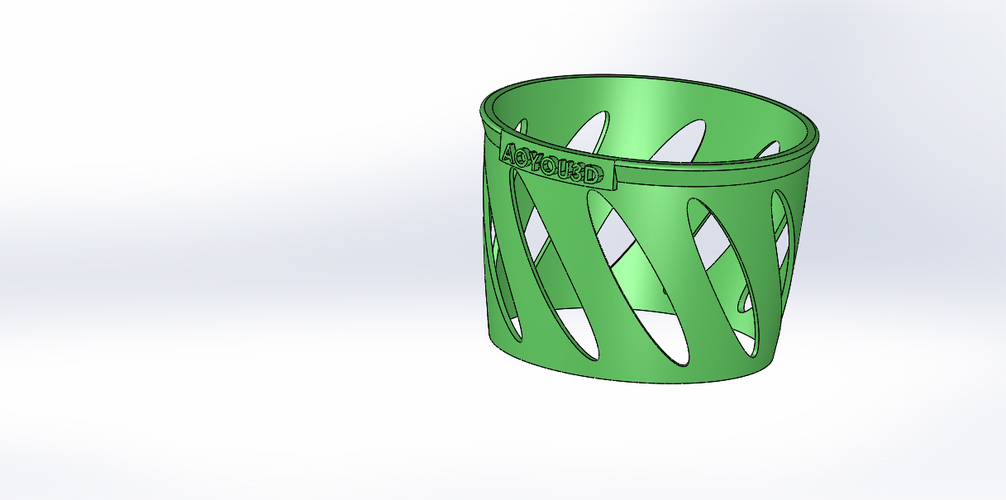Cup holder-1 3D Print 15788