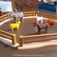 Small Modular Castle Playset (3D-printable) 3D Printing 15798