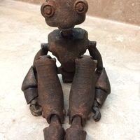 Small BeQui,  Jointed Robot 3D Printing 15801