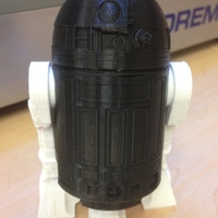 Small R2D2 Salt and Pepper Shaker 3D Printing 1582