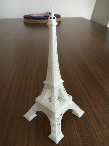 Eiffel Tower #SeeTheWorld 3D Print 15822