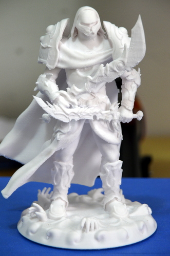 heavenly warrior steel 3D Print 15846