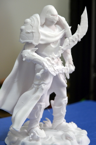 heavenly warrior steel 3D Print 15847