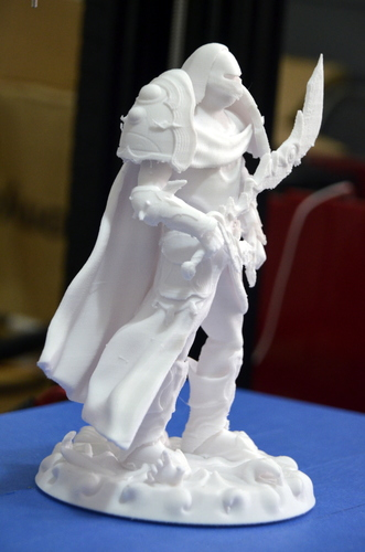 heavenly warrior steel 3D Print 15848