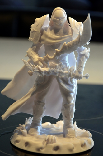 heavenly warrior steel 3D Print 15849