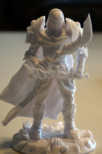 heavenly warrior steel 3D Print 15850
