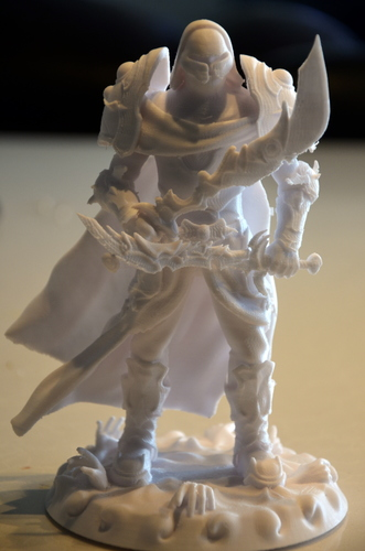 heavenly warrior steel 3D Print 15851