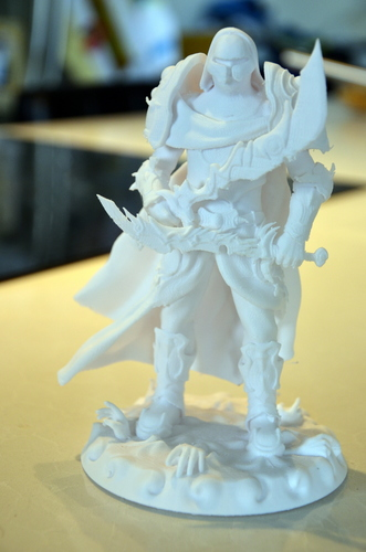 heavenly warrior steel 3D Print 15852