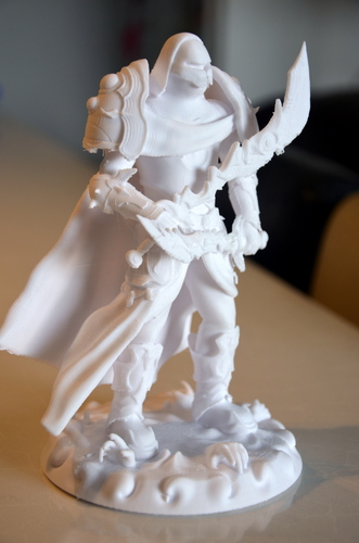 heavenly warrior steel 3D Print 15853