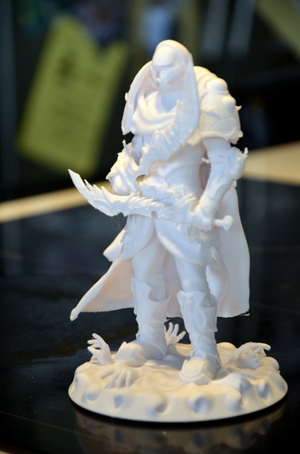 heavenly warrior steel 3D Print 15855
