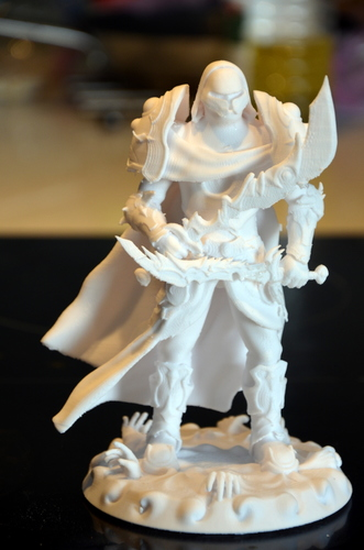 heavenly warrior steel 3D Print 15856