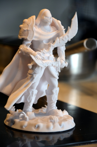 heavenly warrior steel 3D Print 15858