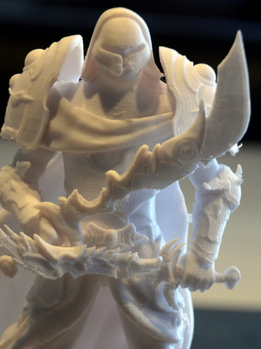 heavenly warrior steel 3D Print 15860