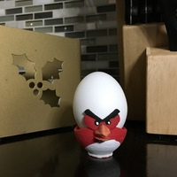 Small Angry Bird Egg Cup 3D Printing 15959