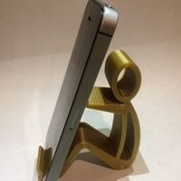Small Phone holder Phone stand 3D Printing 15974