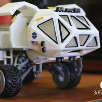 Small Martian Rover - The Martian - 3dPrintable - 3dFactory Brasil 3D Printing 15987