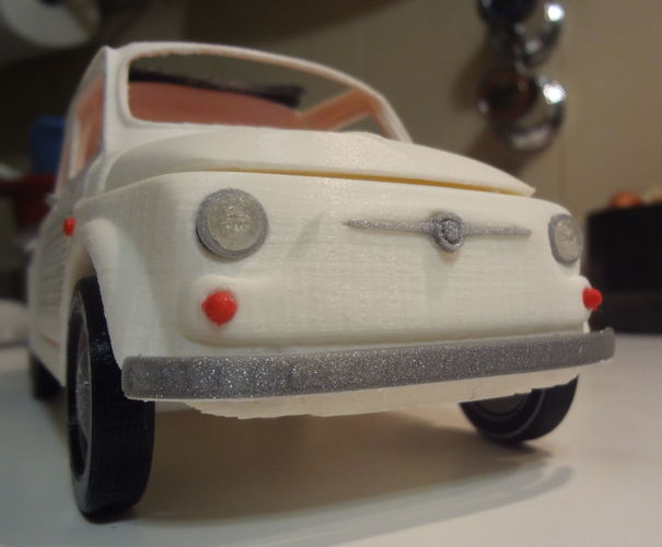 Italian Sixties  Car Model 3D Print 15991