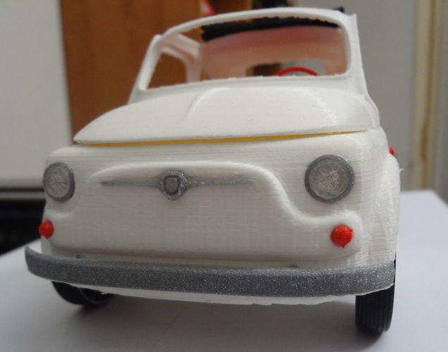 Italian Sixties  Car Model 3D Print 15996