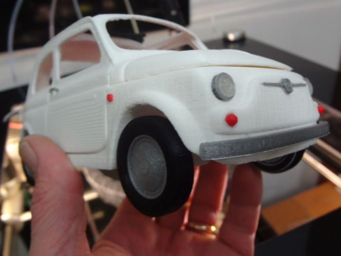 Italian Sixties  Car Model 3D Print 15997