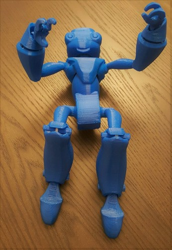 BeQui,  Jointed Robot 3D Print 16017