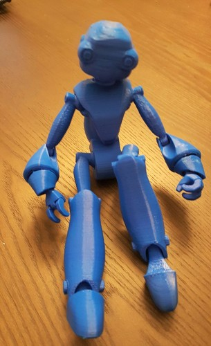 BeQui,  Jointed Robot 3D Print 16018
