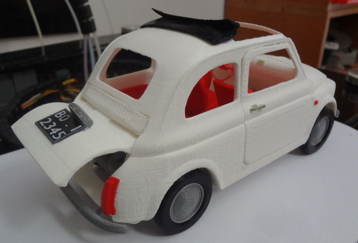 Italian Sixties  Car Model 3D Print 16035