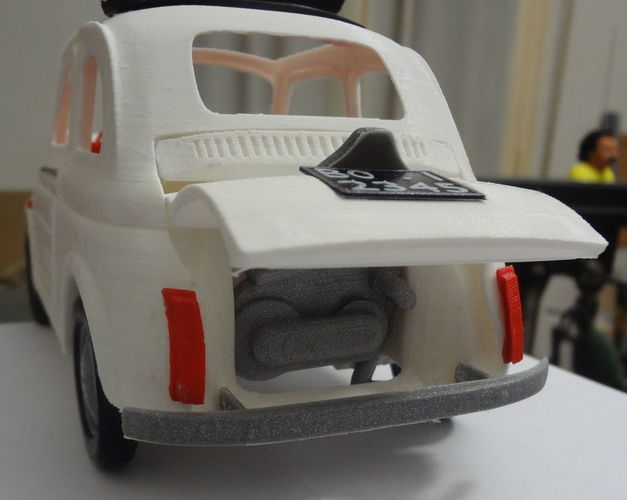 Italian Sixties  Car Model 3D Print 16036
