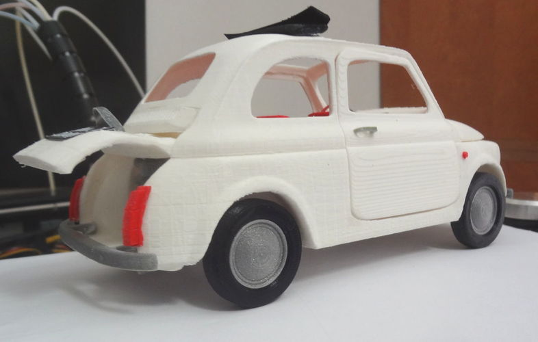 Italian Sixties  Car Model 3D Print 16037