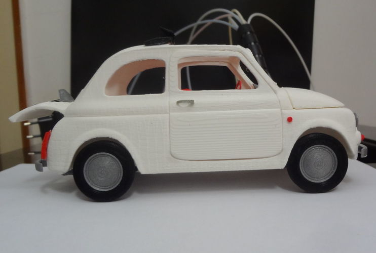Italian Sixties  Car Model 3D Print 16040