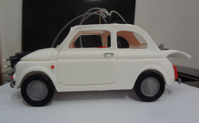 Italian Sixties  Car Model 3D Print 16041