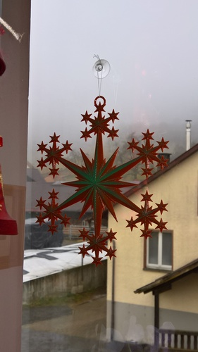 Star and Snowflake Star Ornament 3D Print 16081