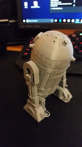 R2D2 Salt and Pepper Shaker 3D Print 16188