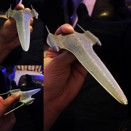 Nubian Royal Starship 3D Print 16209