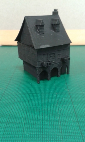 Another Tudor style house for Wargaming 3D Print 16281