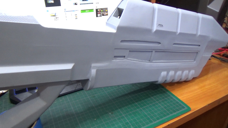 Halo assault rifle 3D Print 16309