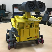 Small Wall-E Robot - Fully 3D Printed 3D Printing 16311