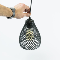 Small LAMPION LAMP SHADE 3D Printing 16420