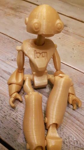 BeQui,  Jointed Robot 3D Print 16482