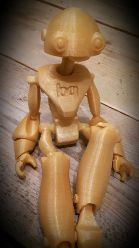 BeQui,  Jointed Robot 3D Print 16483